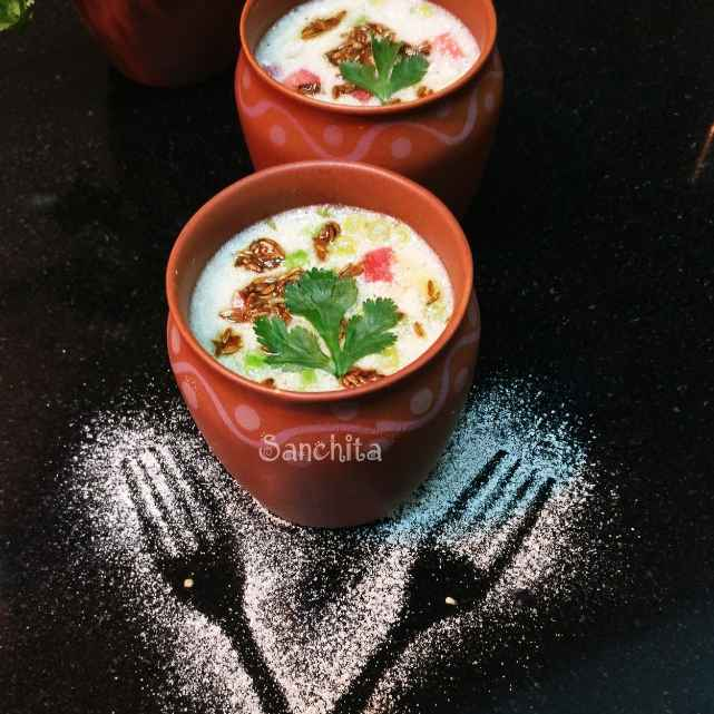 Photo of Pearl Millet Soup /Bajra ni Raab by Sanchita Agrawal Mittal at BetterButter