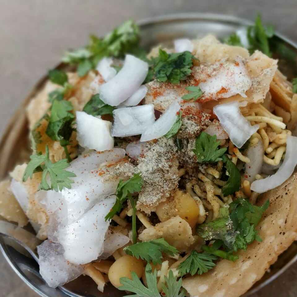 How to make Curd papdi chat