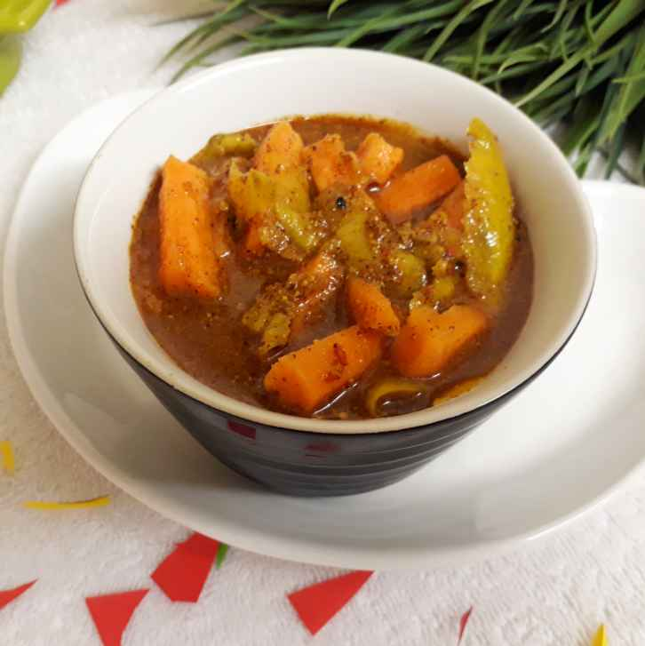 Photo of Carrot pickle by Sandeepa Dwivedi at BetterButter