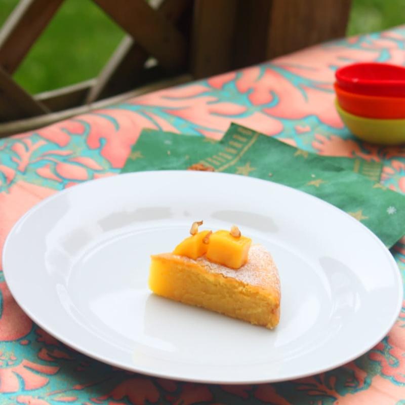 Photo of Eggless Mango Cake by Sandhya Hariharan at BetterButter
