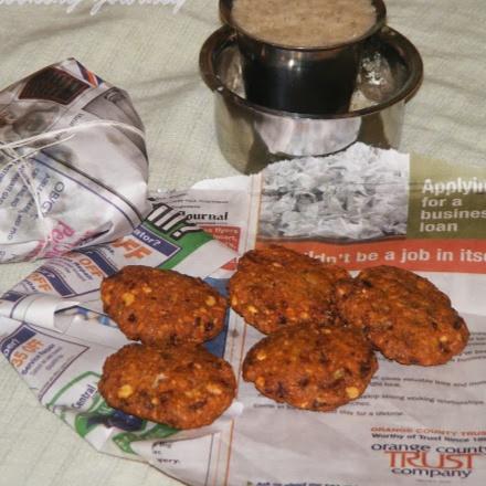 How to make Tea Kadai Style Masala Vadai