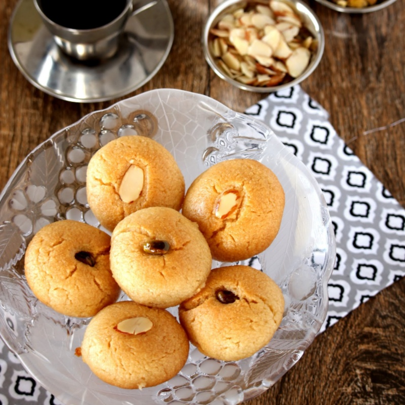 How to make Sekerpare – Turkish Soft Cookies in Sugar Syrup