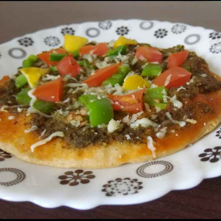 Photo of Kids spinach dal pizza by sandya Raj at BetterButter