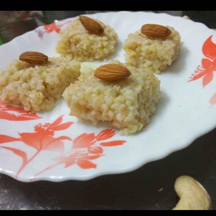 Photo of broken wheat sweet by sandya Raj at BetterButter