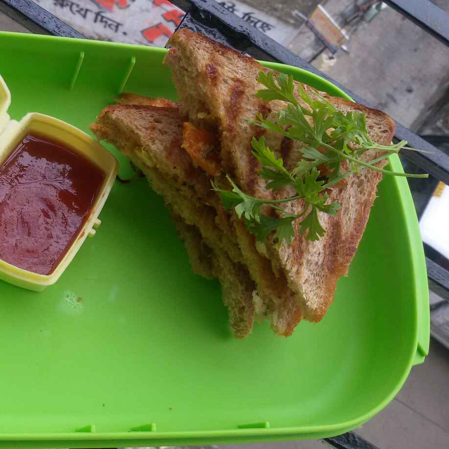 Photo of Veg grilled sandwich by Sangeeta Biswas at BetterButter