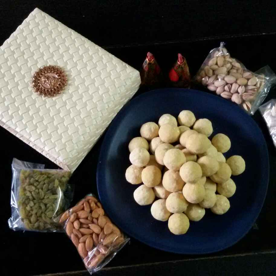 How to make Microwave besan ladoo in 10 mints