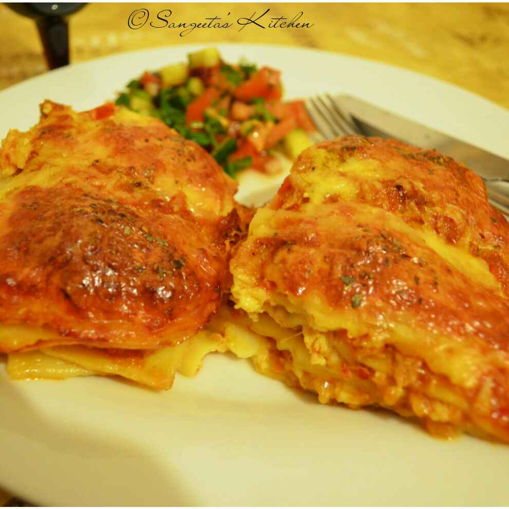 Photo of Chicken tuna lasagne by Sangeeta Basak at BetterButter