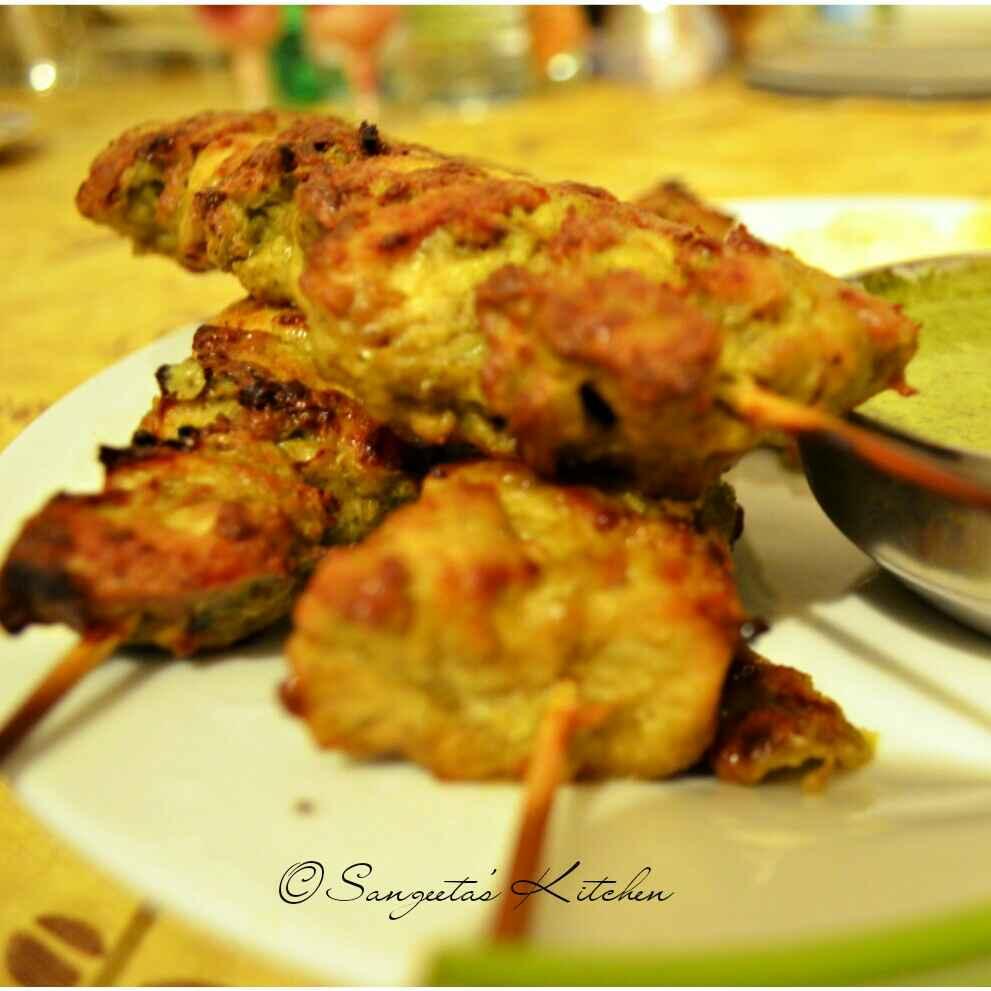 How to make Chicken Reshmi Kebab
