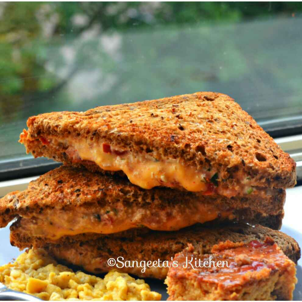 Photo of Easy Breakfast Paneer Sandwich in Tawa by Sangeeta Basak at BetterButter