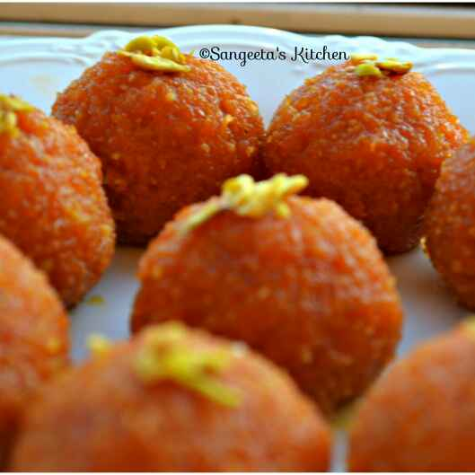 How to make Carrot Laddu