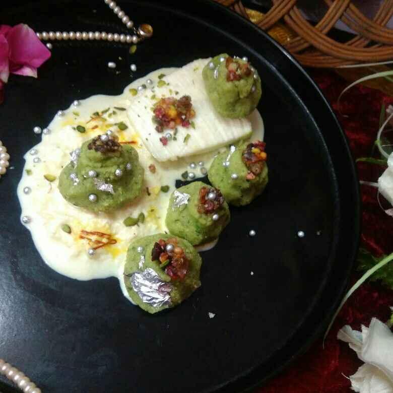 How to make Pan paneer kalash in kesariya paneer rabdi