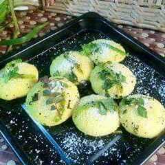 How to make Bread sooji dhokhla