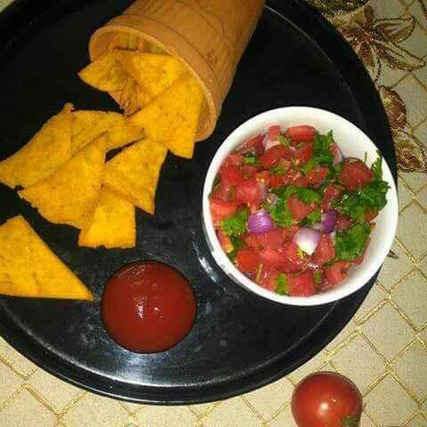 Photo of Nachos with fresica salsa by Sangeeta Bhargava . at BetterButter
