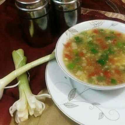 How to make स्वीट कॉर्न सूप