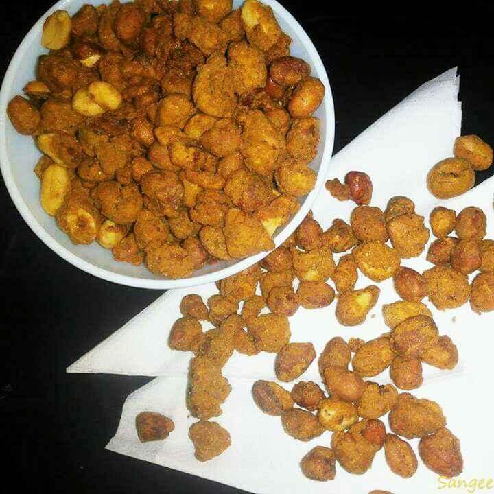 How to make Besan masala moongfali