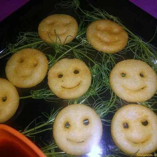 Photo of Potato smiley by Sangeeta Bhargava . at BetterButter