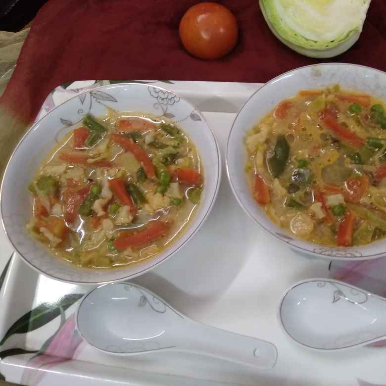 Photo of Cabbage soup by Sangeeta Bhargava . at BetterButter