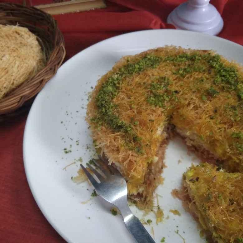 How to make Kunafa arbi mithai
