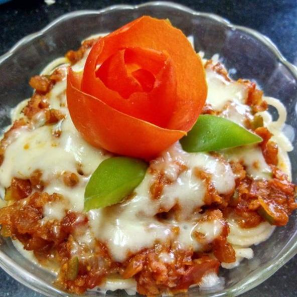 How to make Vegetarian Pasta Bolognese