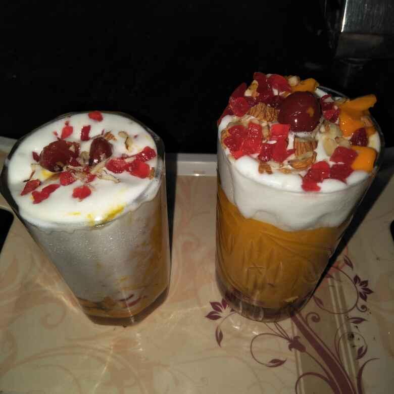 Photo of Mango milk shake by Sangeeta Kadam at BetterButter