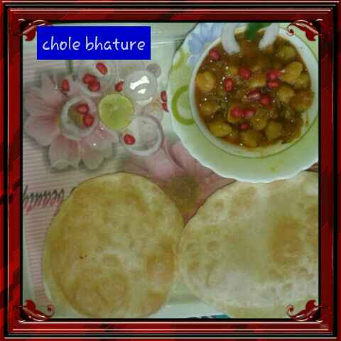 Photo of Chhole bhature by Sangeeta Shaw at BetterButter