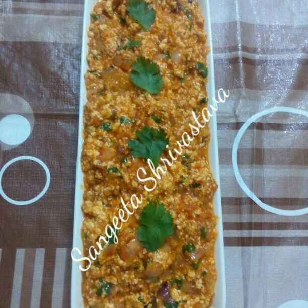 How to make Paneer burji