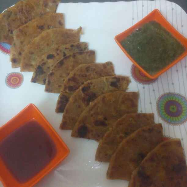 Photo of Aloo paratha by Sangeeta Shrivastava at BetterButter