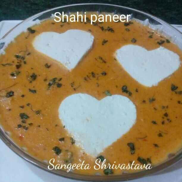 Photo of Shahi paneer by Sangeeta Shrivastava at BetterButter