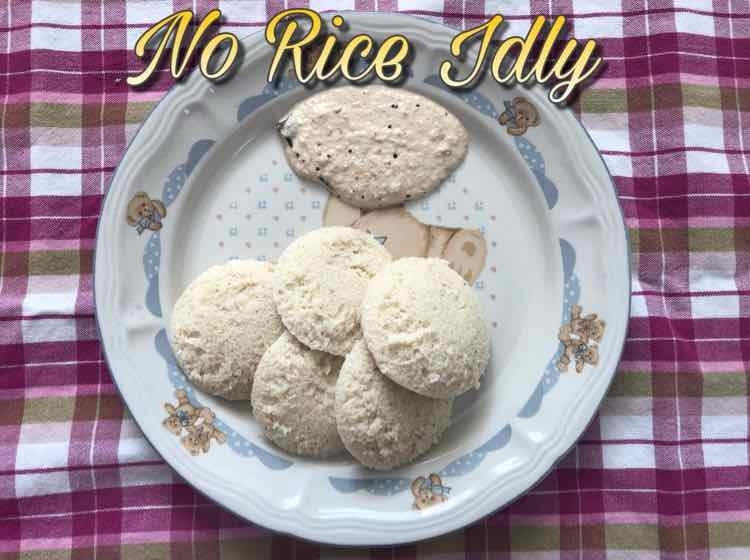 How to make No Rice Idly
