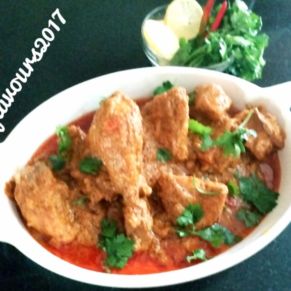 How to make Hot and Spicy Chicken Masala