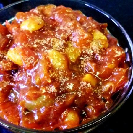 Photo of Tomato Khejurer Chutney by sangita banerjee at BetterButter