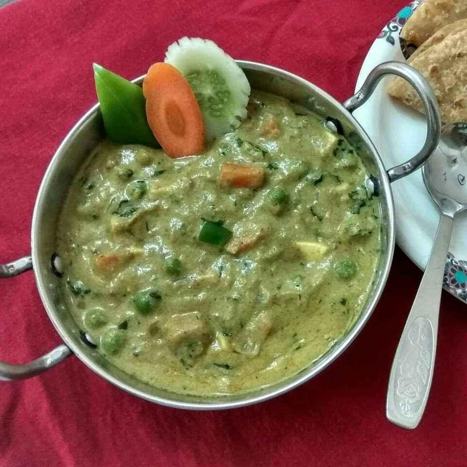 Photo of Mixveg in white gravy by Sangita Jalavadiya at BetterButter