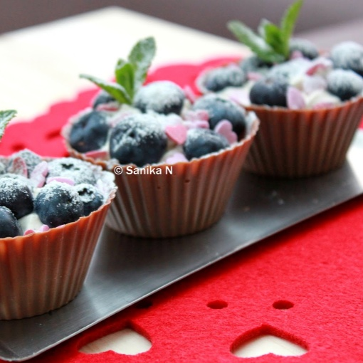 Photo of Very Berry Chocolate Cups by Sanika SN at BetterButter