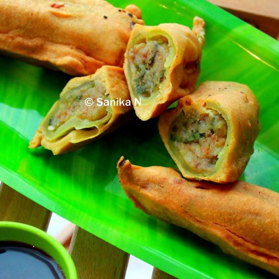 How to make Rajasthani Mirchi Vada