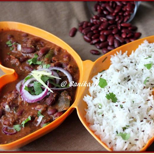How to make Rajma - Chawal