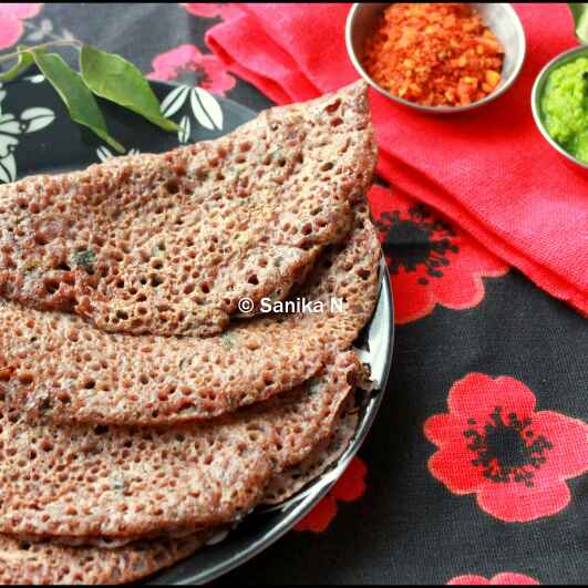 Photo of Instant Ragi Dosa by Sanika SN at BetterButter