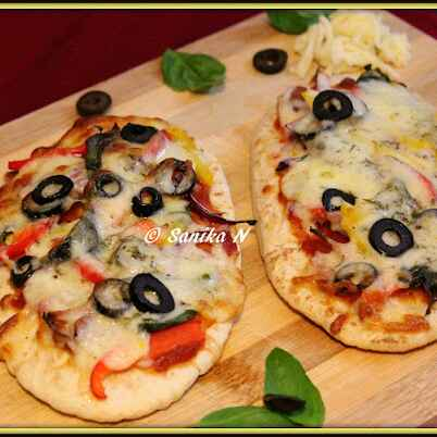 Photo of Pita Bread Pizza by Sanika SN at BetterButter