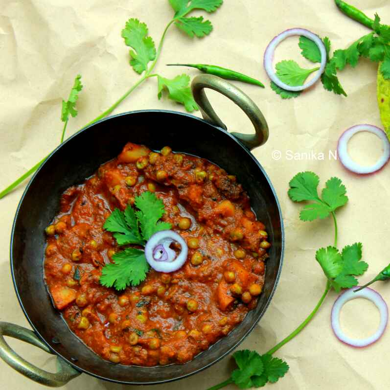 How to make Aloo Mutter