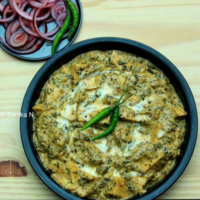 Photo of Methi Malai Paneer by Sanika SN at BetterButter