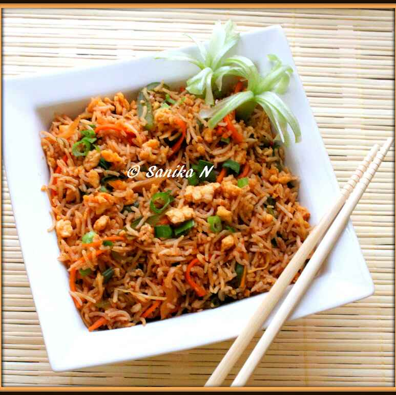 Photo of Vegetable - Egg Fried Rice by Sanika SN at BetterButter
