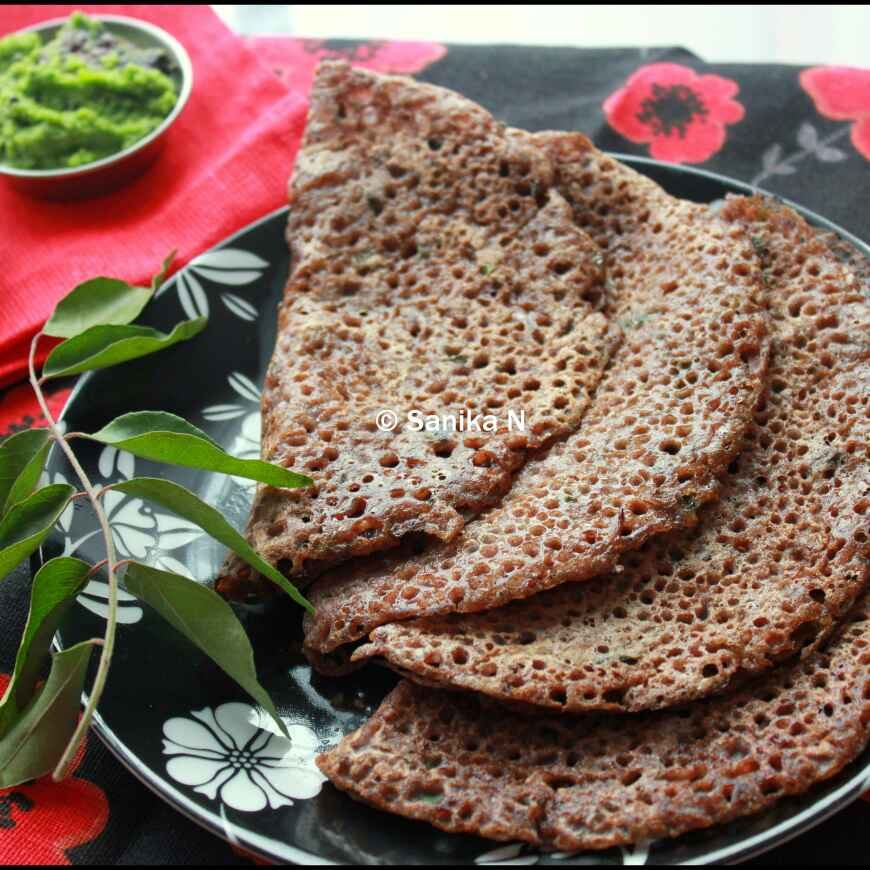 Photo of Instant Raagi Dosa by Sanika SN at BetterButter
