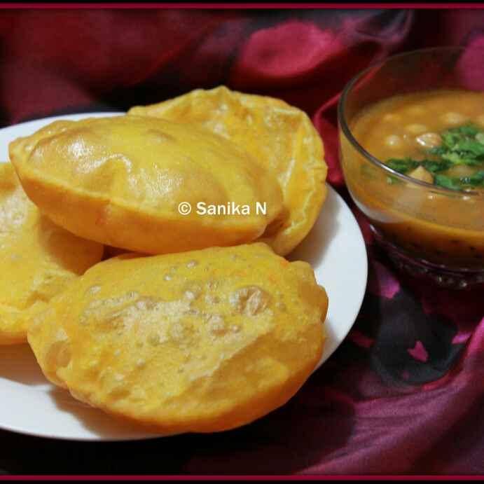 Photo of Spicy Sweet Potato Puri by Sanika SN at BetterButter