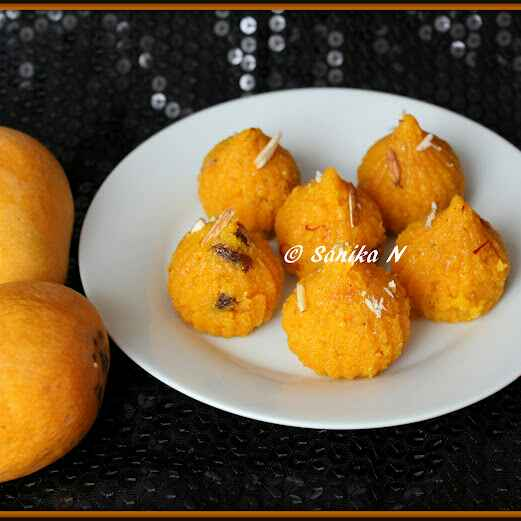 Photo of Mango Flavoured Semolina Halwa / Sheera by Sanika SN at BetterButter