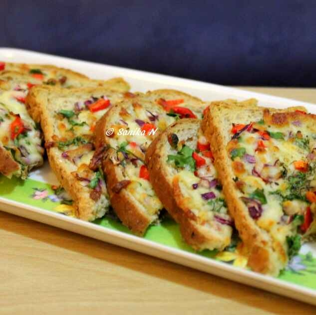 Photo of Cheese Chilli Toast by Sanika SN at BetterButter