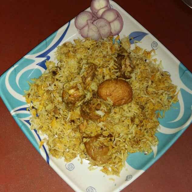 Photo of Chicken dum biriyani by Sanjhbati sen at BetterButter