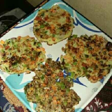 How to make Rava uttapam