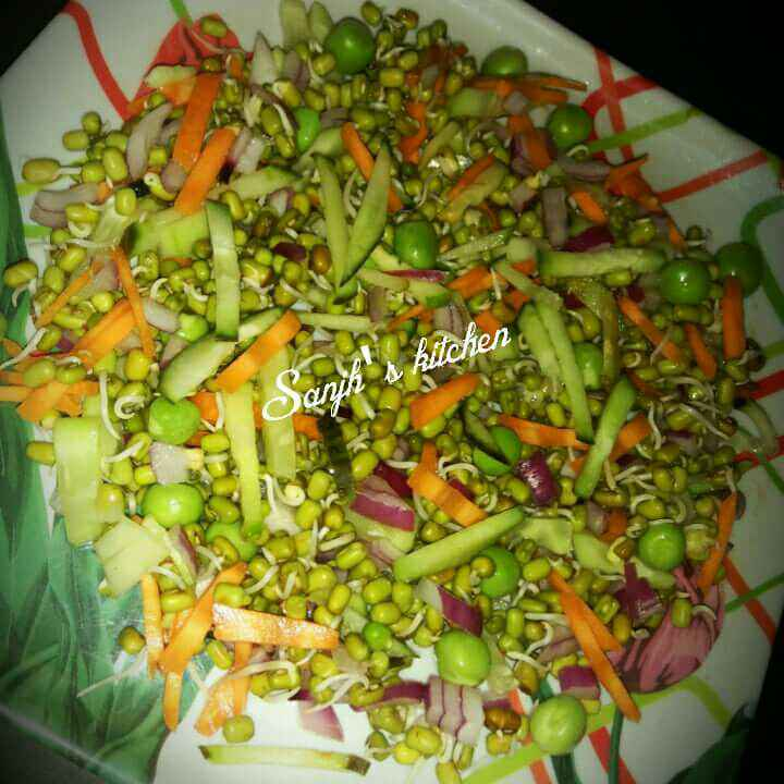 Photo of Sprout Vagetable salad by Sanjhbati sen at BetterButter