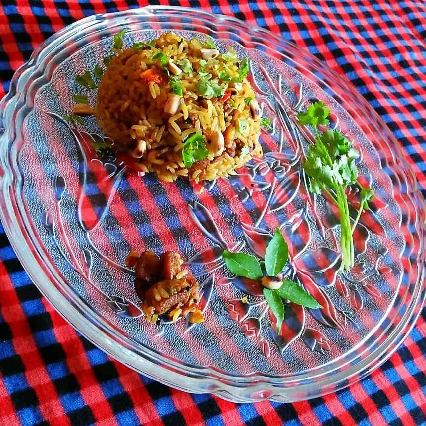 Photo of Spice soya rice by Sanjhbati sen at BetterButter