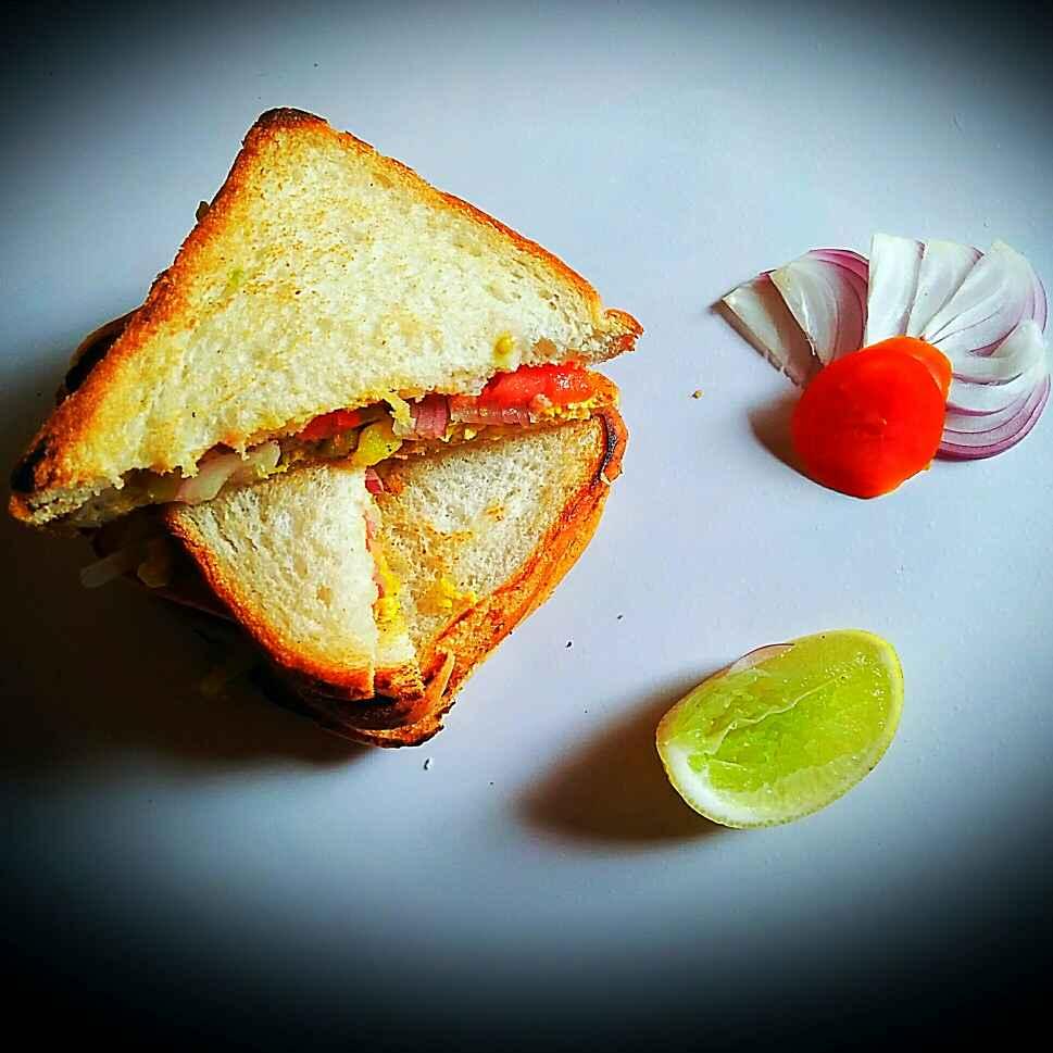 Photo of Fry eggs sandwich by Sanjhbati sen at BetterButter