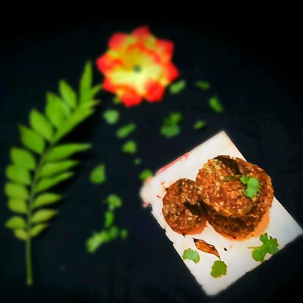 Photo of Crunchy Oats Soya Kabab by Sanjhbati sen at BetterButter
